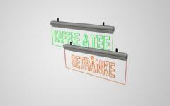 Leuchttransparent - WERBUNG