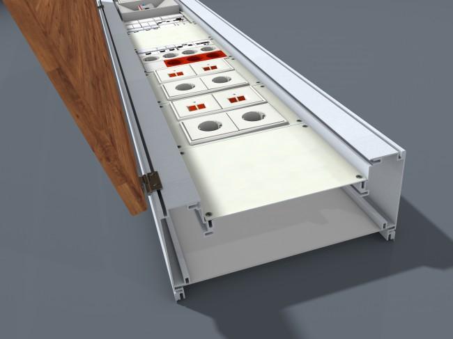 eve mit neuem multifunktions profil h te electronic gmbh. Black Bedroom Furniture Sets. Home Design Ideas